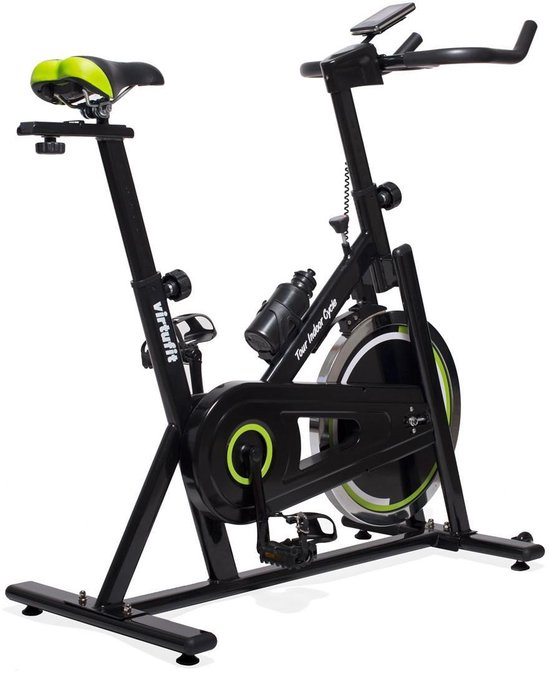 Spinningfiets - VirtuFit Tour Indoor Cycle - Spinbike - Inclusief Bidon